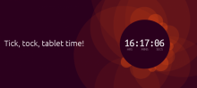 ubuntu clock time date